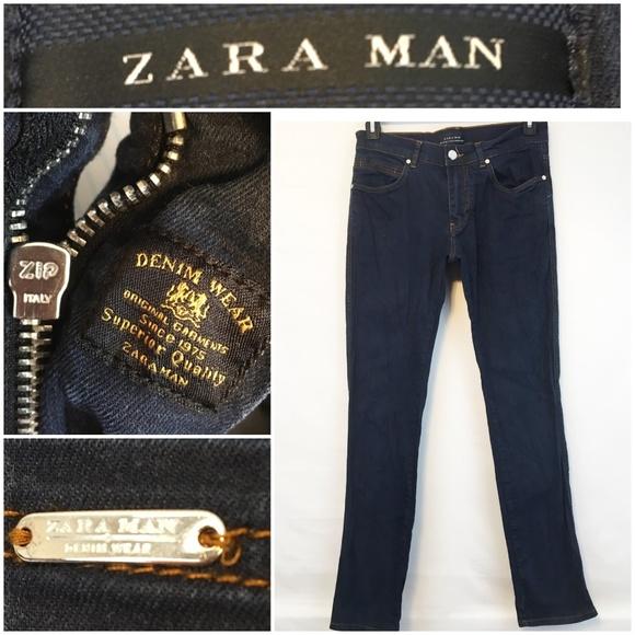 Zara Man Denim Wear | Dark Wash Jeans 31 (32x32)